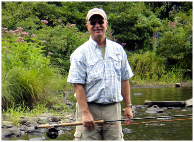 New York Salmon River Spring Steelhead by Walt Geryk. All fish released.